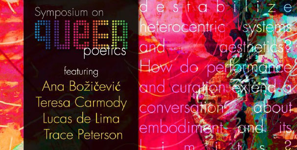 Symposium on Queer Poetics