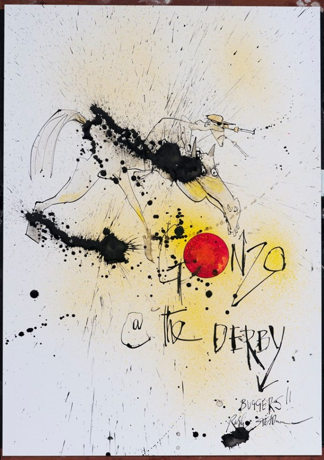 Image by Ralph Steadman
